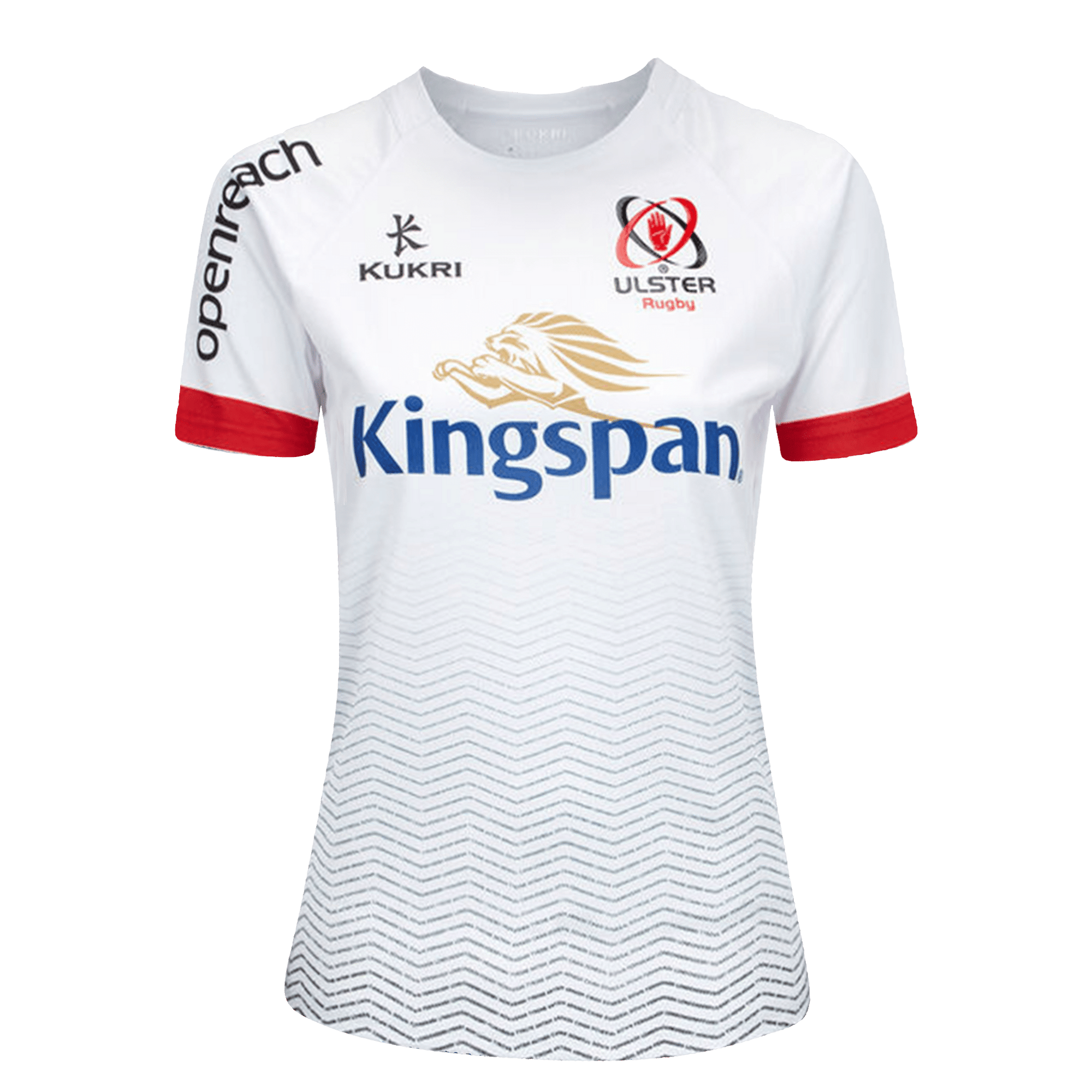 Kukri Women's Ulster Rugby Home Jersey Front White