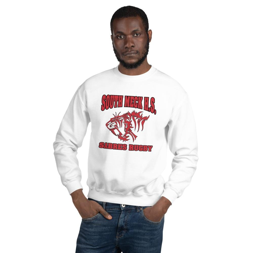 South Mecklenburg High School Unisex Sweatshirt White