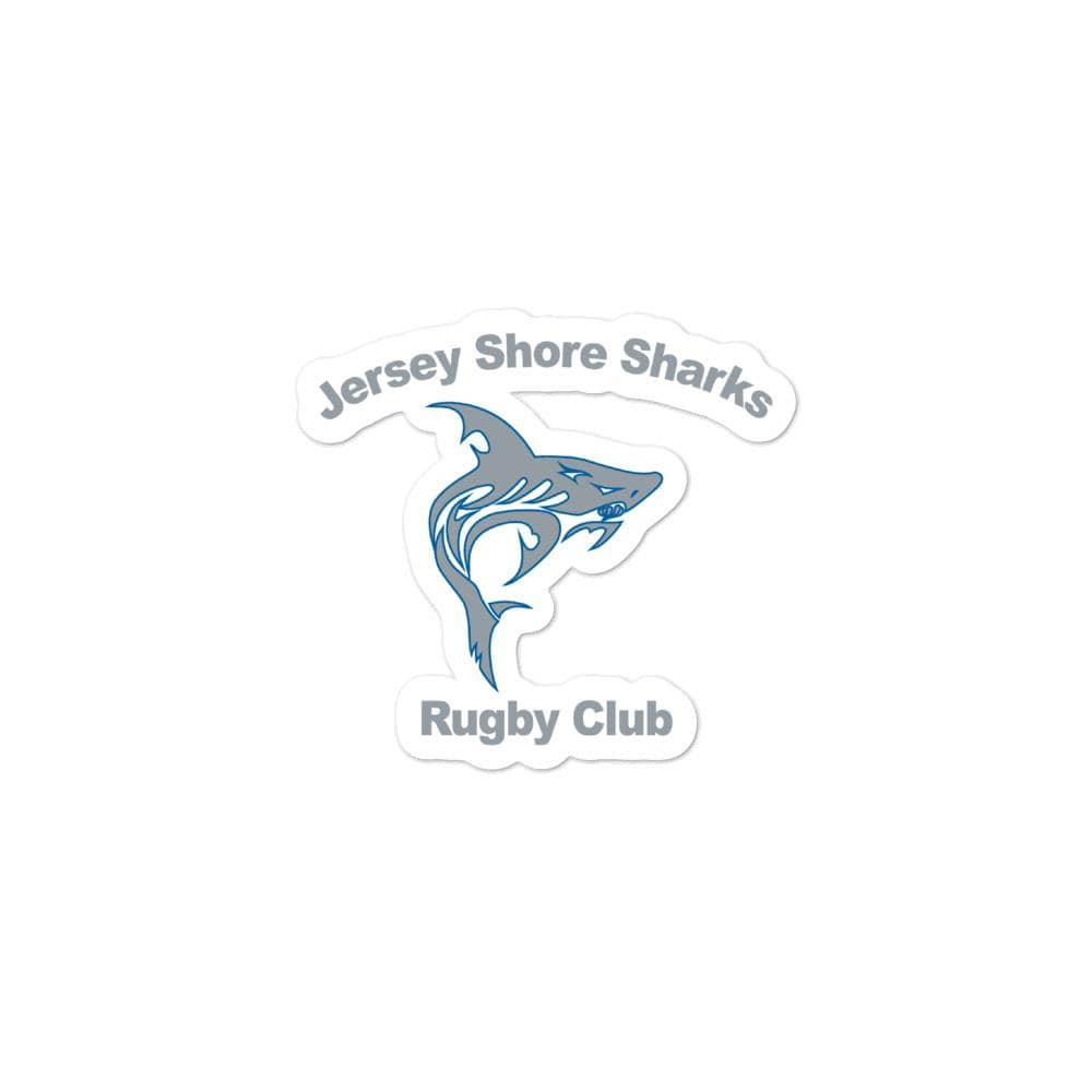 Jersey Shore Sharks RFC Bubble-free stickers
