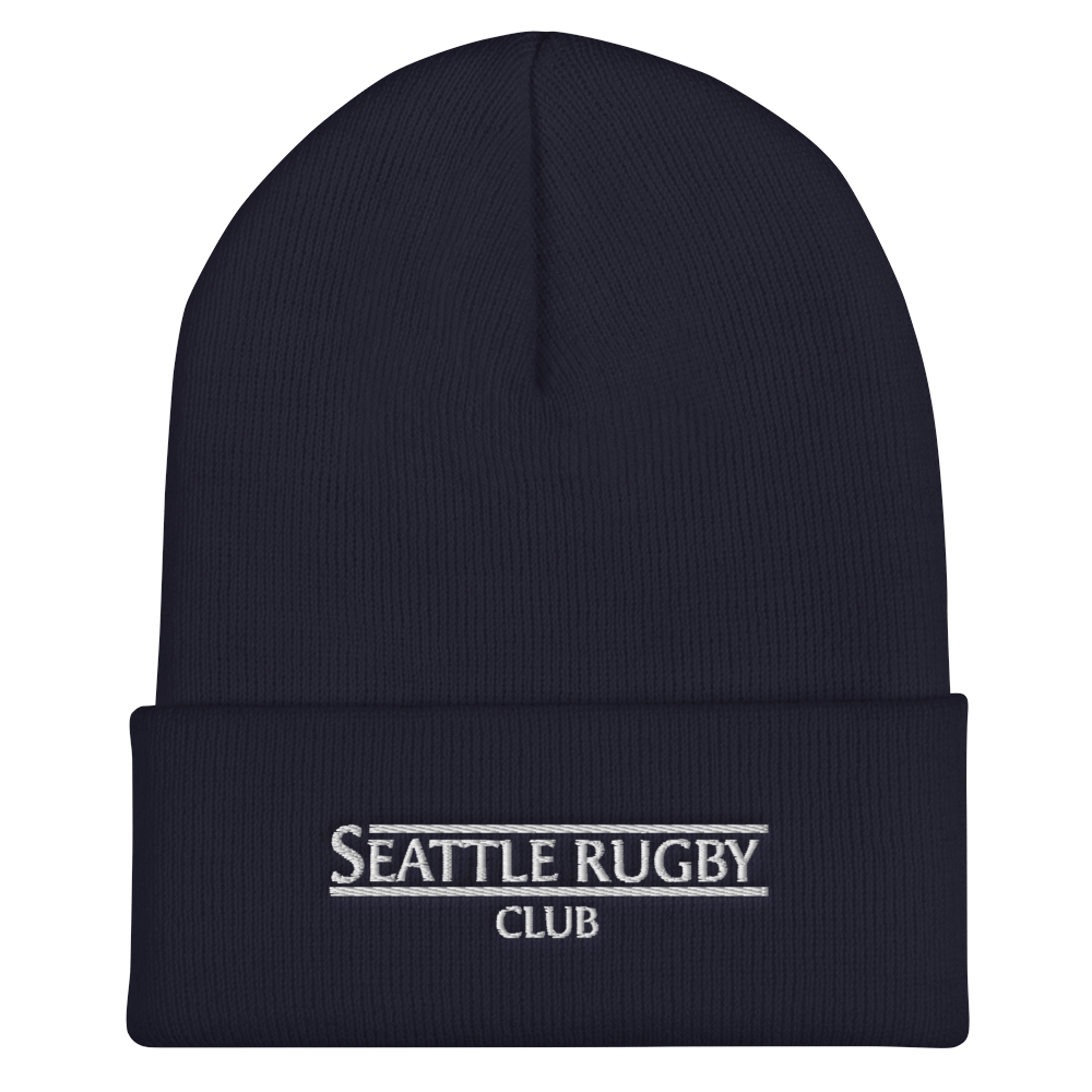 Seattle Rugby Club On Field Training Beanie Navy