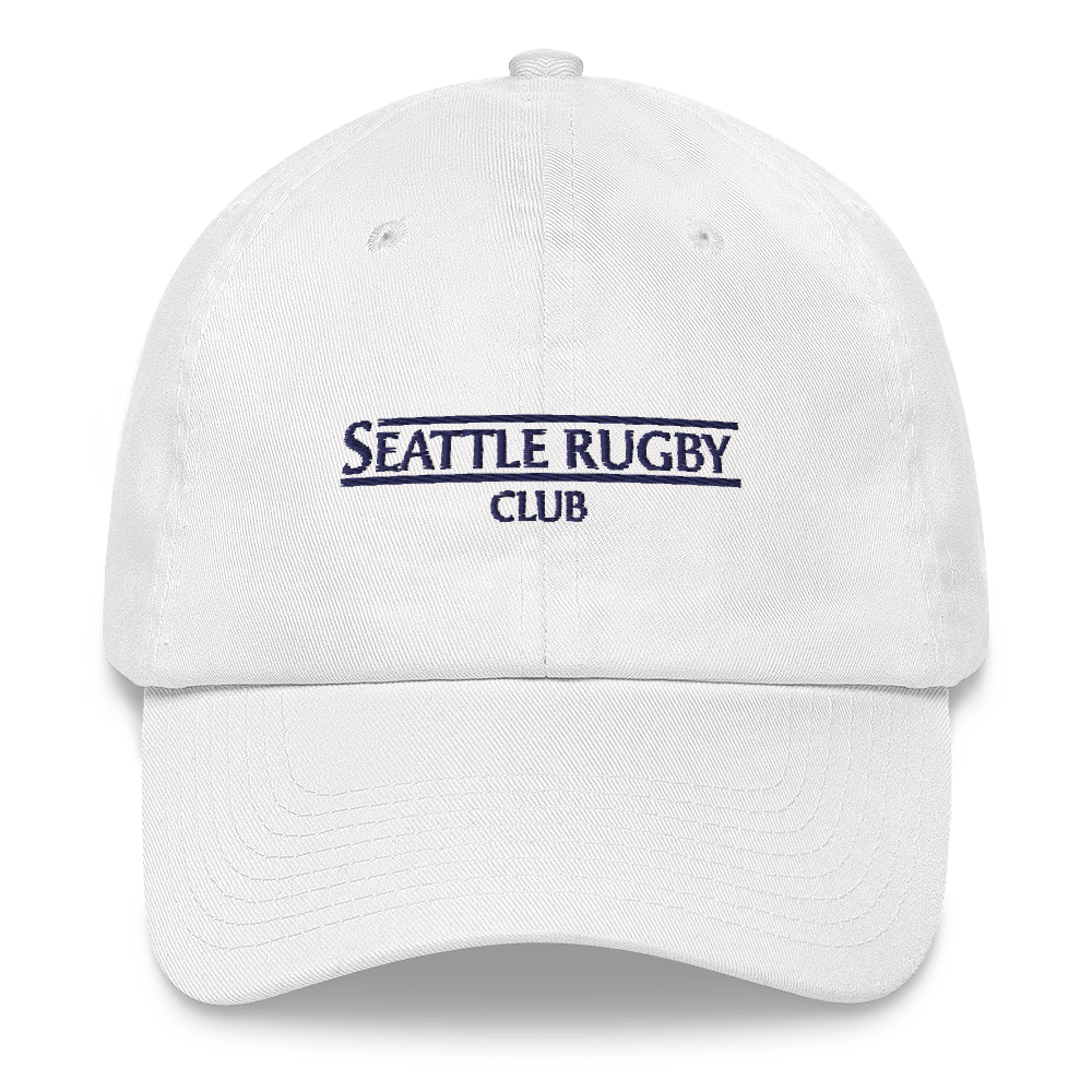 Seattle Rugby Club Coaches HatWhite