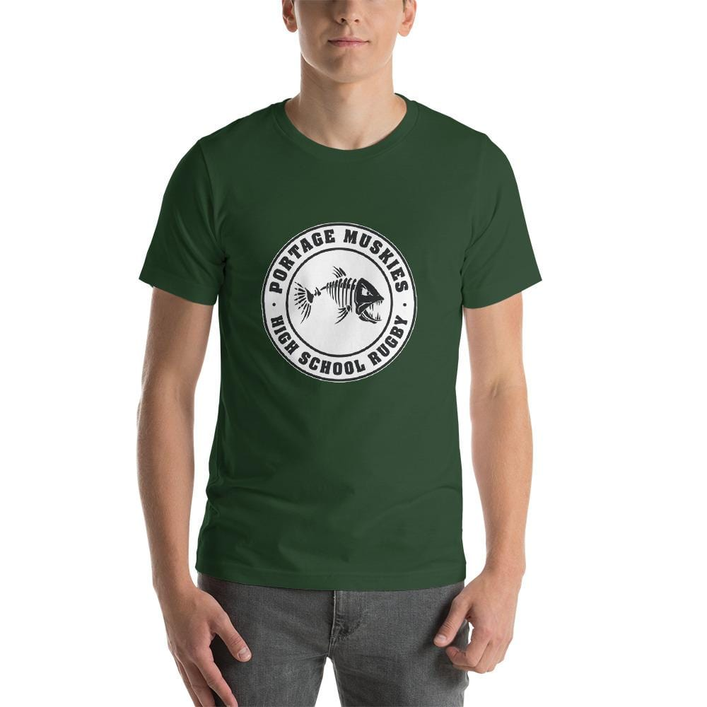 Portage Muskies Rugby T-Shirt Green