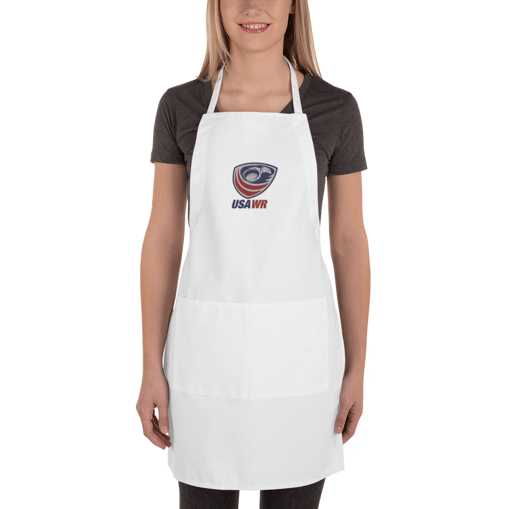 USA Wheelchair Rugby Embroidered Apron