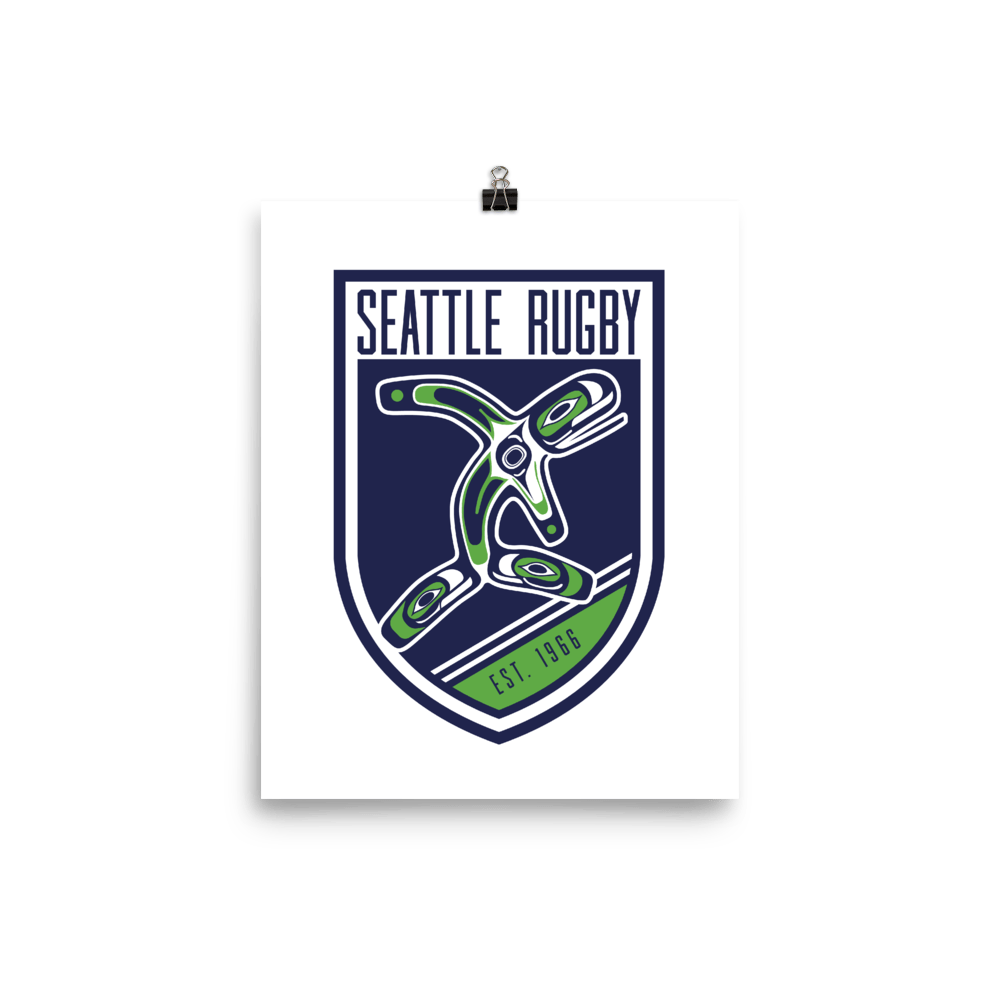 Seattle Rugby Club Poster
