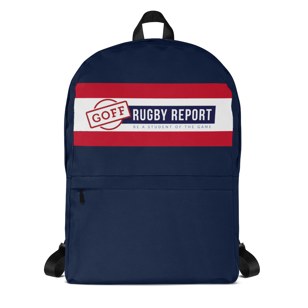 Goff Rugby Report Travel Backpack