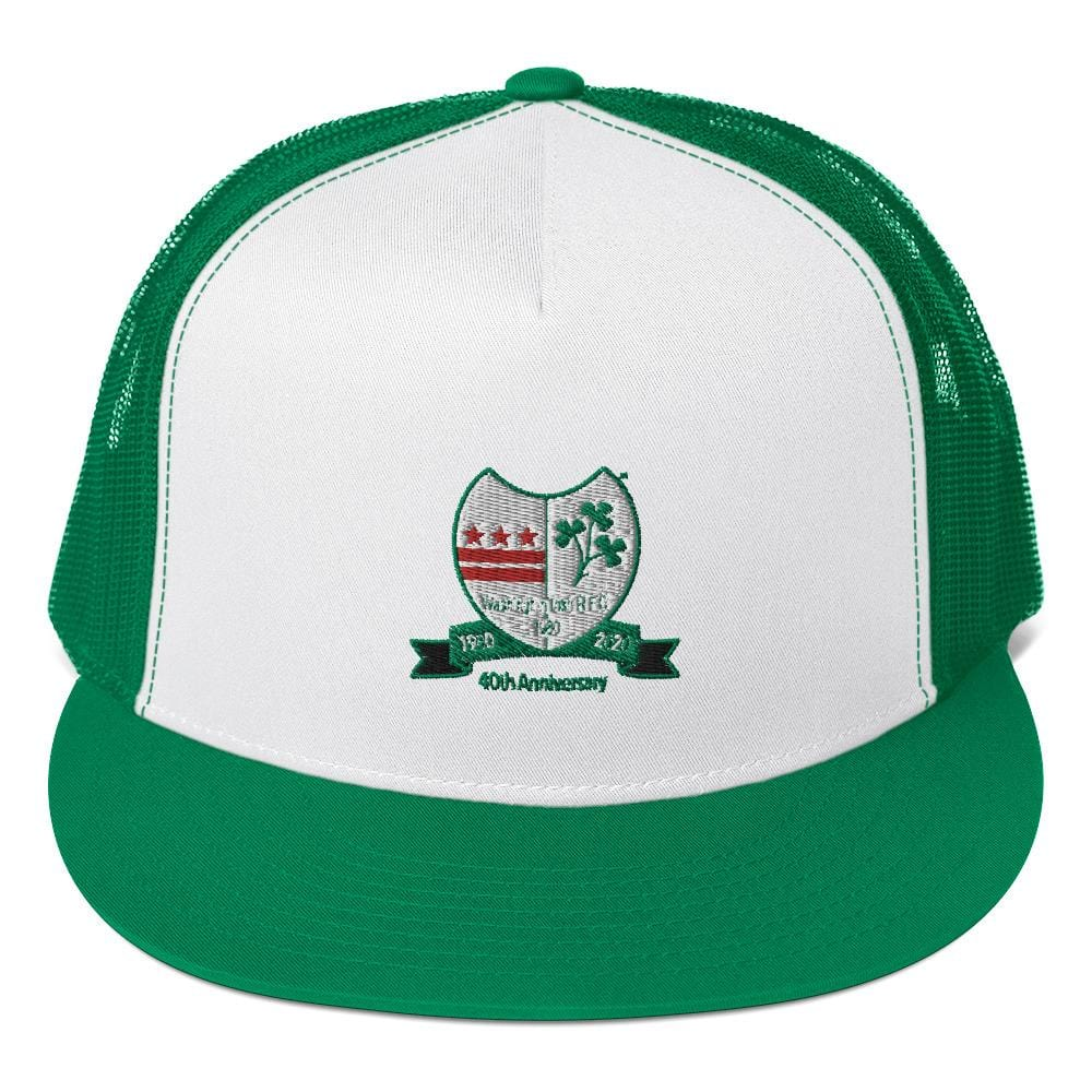 Washington Irish 40th Anniversary Trucker Cap
