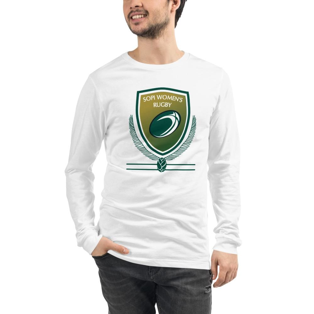 SOUTHERN PINES RFC Unisex Long Sleeve Tee White