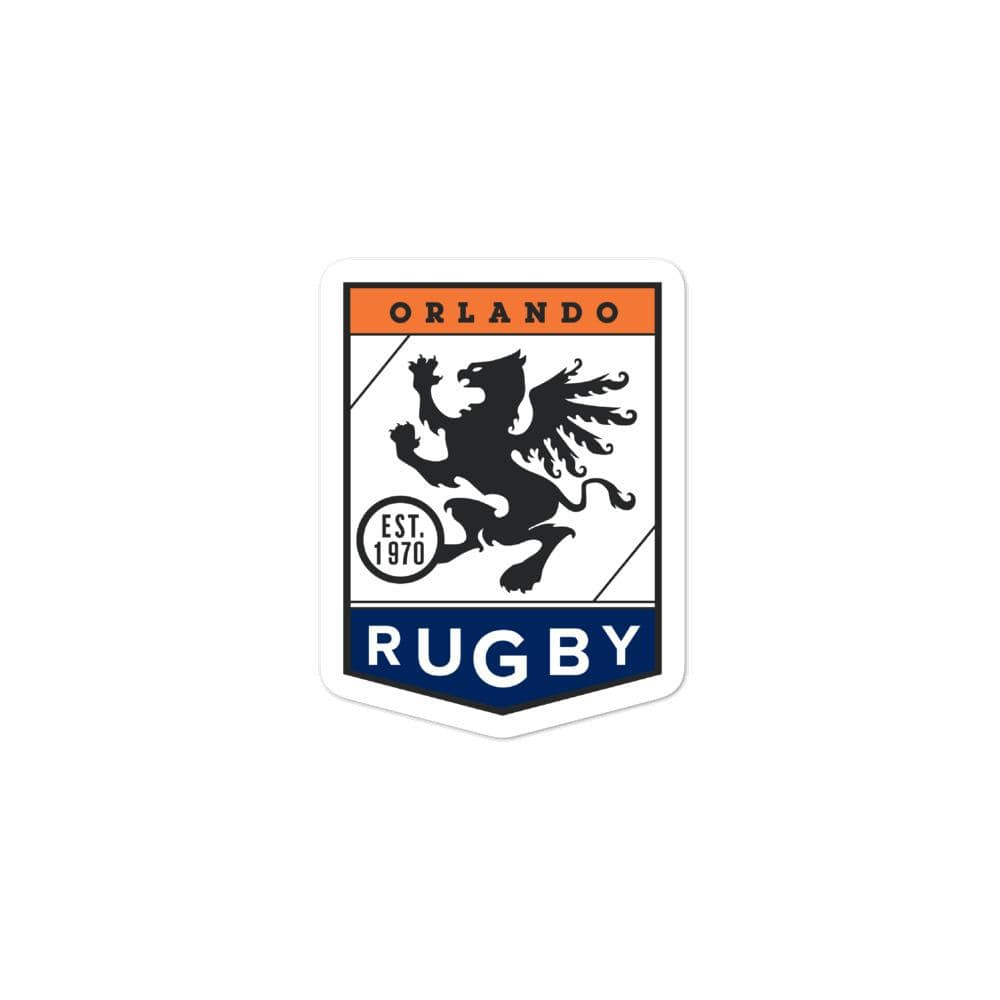 Orlando Rugby Club Bubble-free Stickers