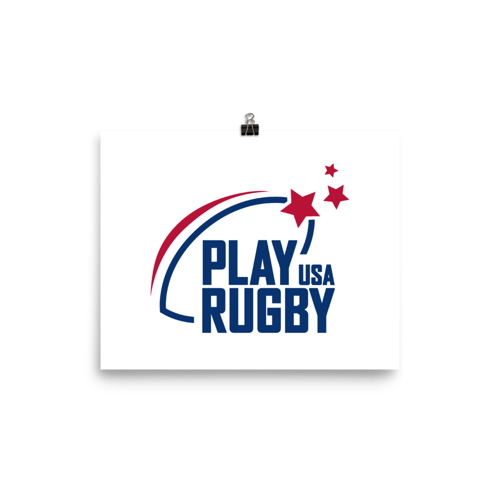 Play Rugby USA Poster