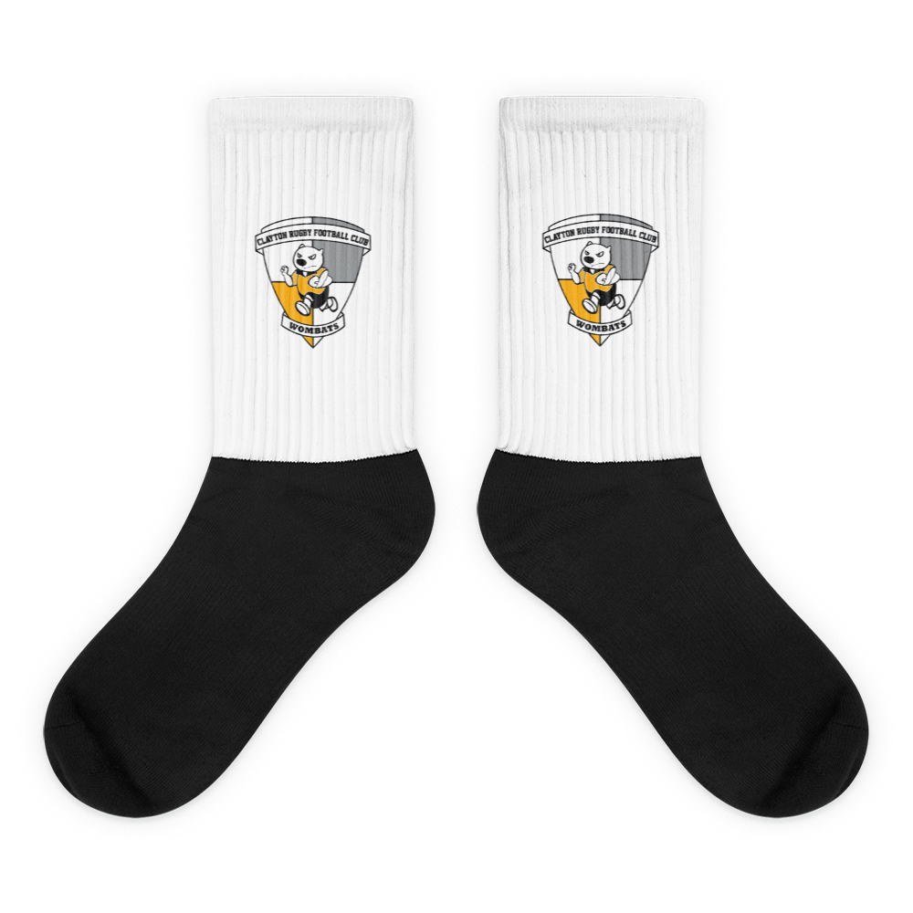 Clayton Wombats TV Socks