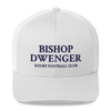Trucker Cap With Bishop Dwenger RFC Text on Front