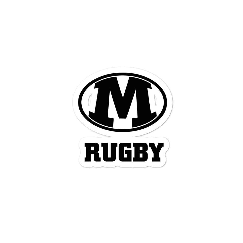 Medina Rugby Bubble-free Stickers