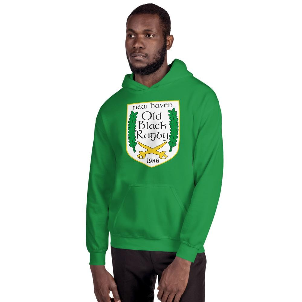 New Haven Rugby Unisex Hoodie Green