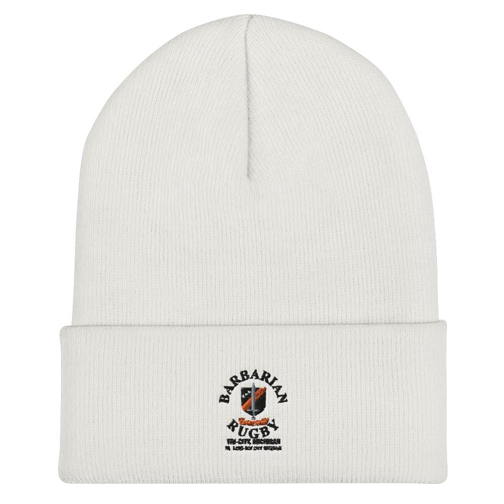 Tri City Barbarians On Field Training Beanie White
