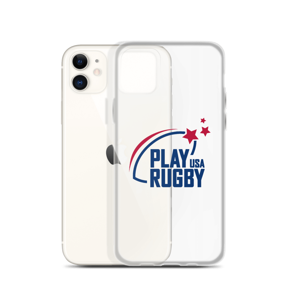 Play Rugby USA iPhone Case