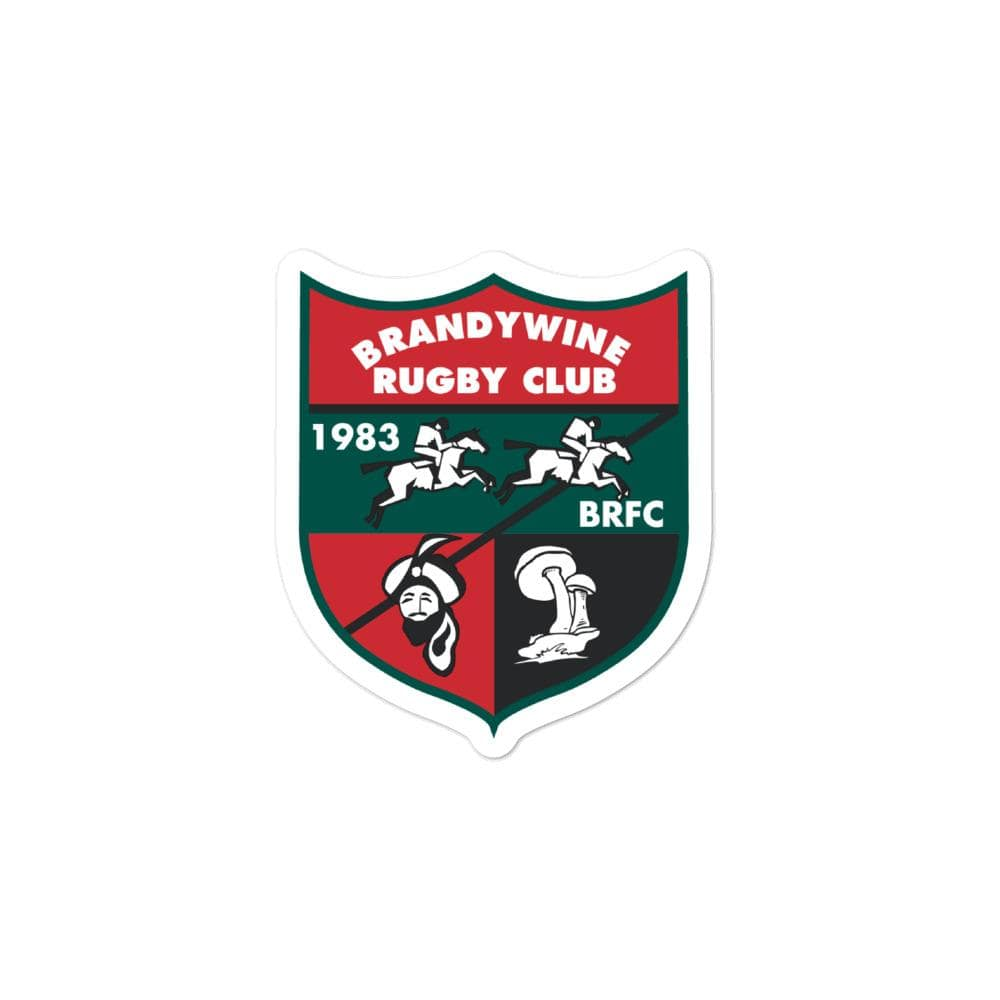 Brandywine Rugby Club Stickers