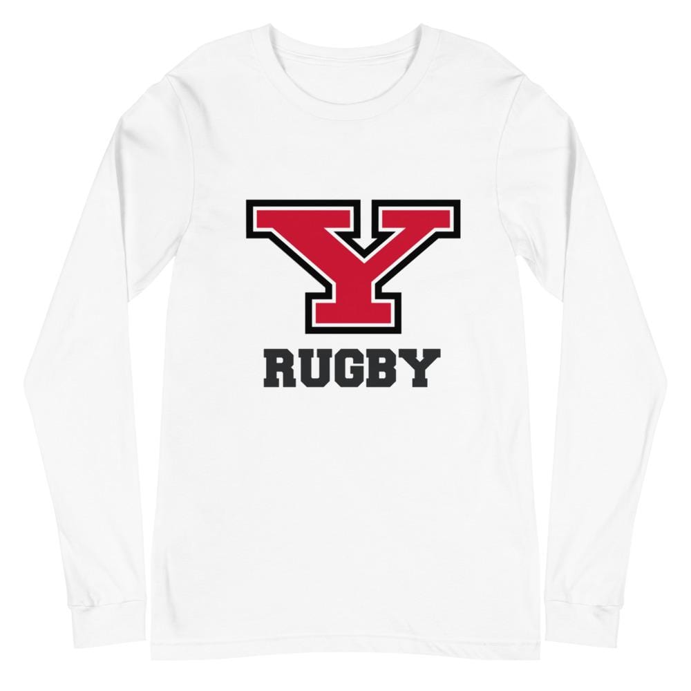 Youngstown Rugby Unisex Long Sleeve Tee White