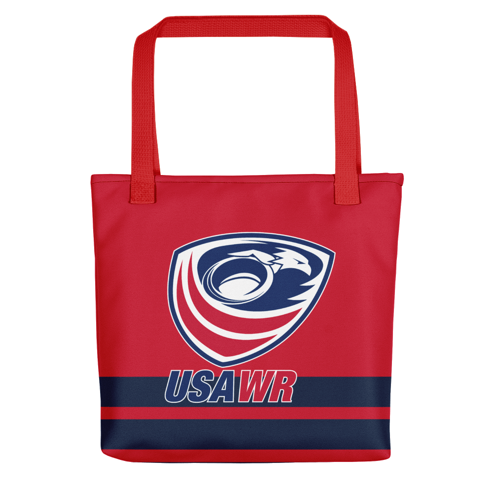 USA Wheelchair Rugby Tote Bag