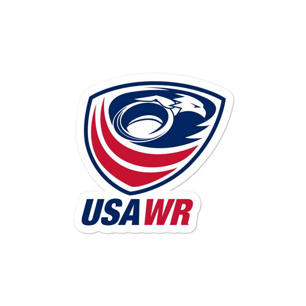 USA Wheelchair Rugby Stickers