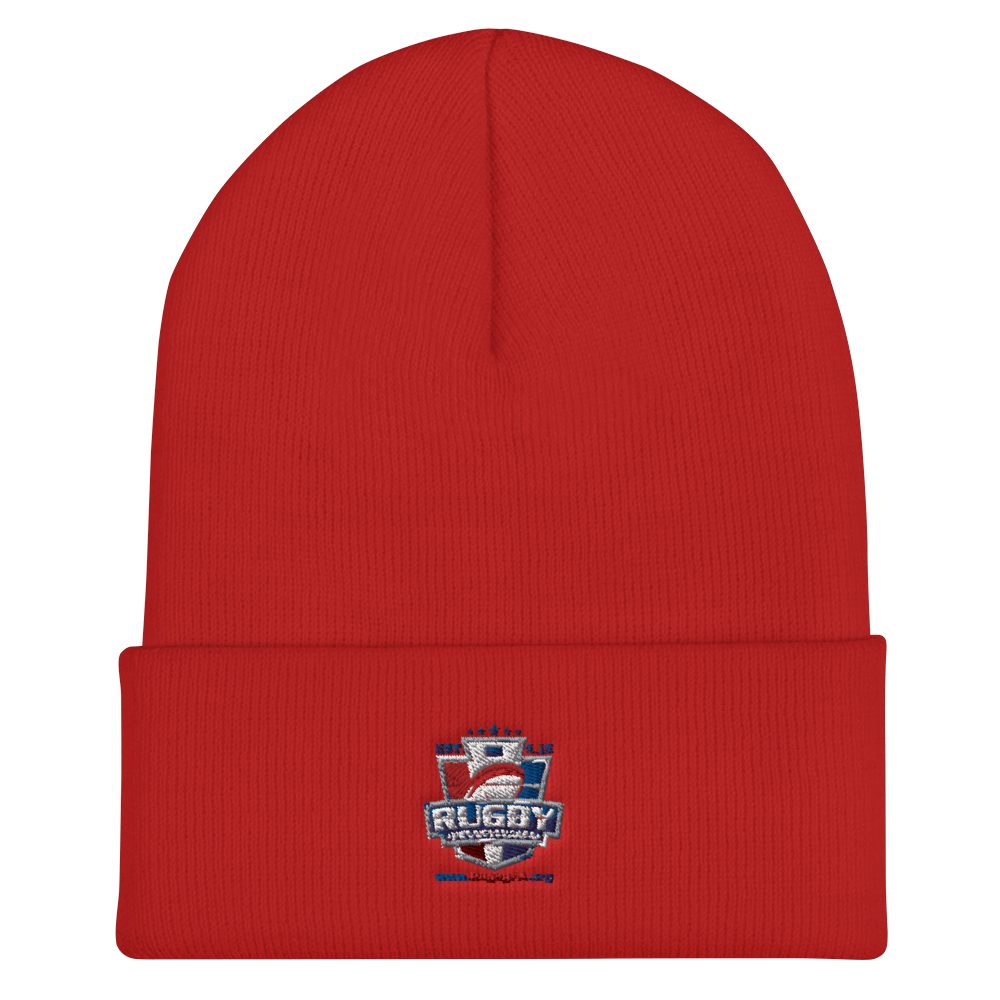 Rugby PA On Field Training Beanie Red