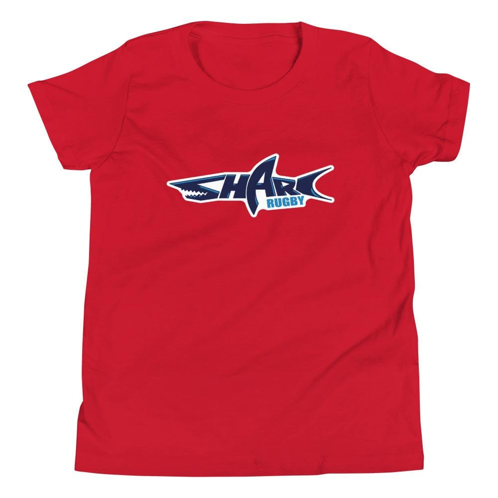 Sharks Rugby Youth Short Sleeve T-Shirt Red
