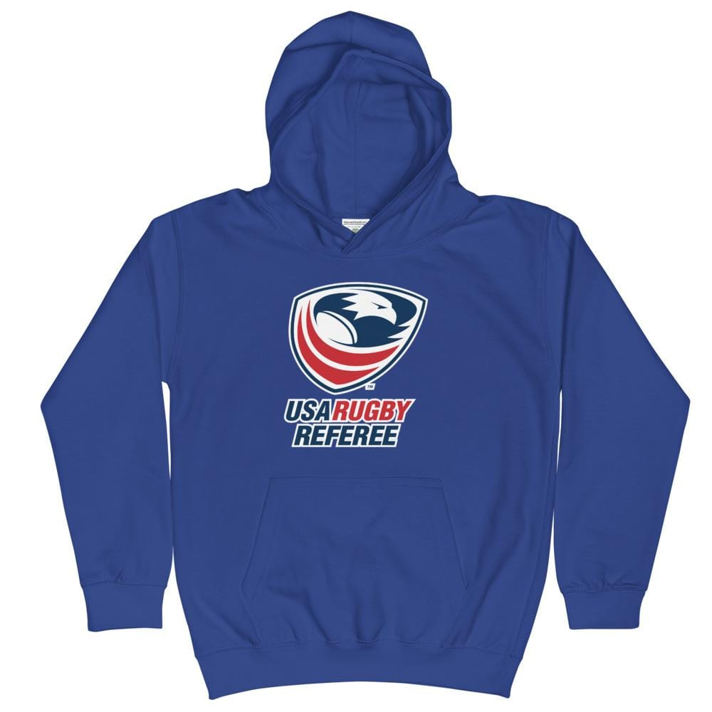 USA Rugby Referees Kids Hoodie