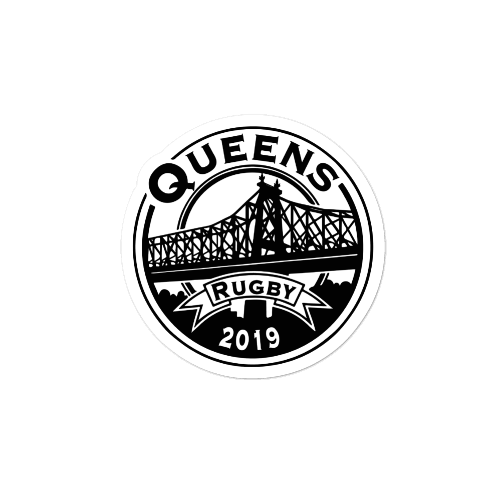 Queens Rugby Club Stickers