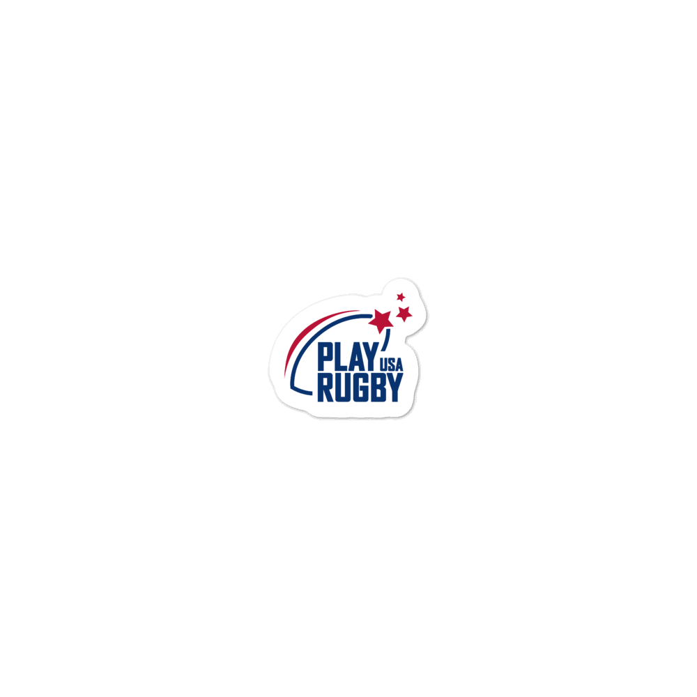 Play Rugby USA Stickers