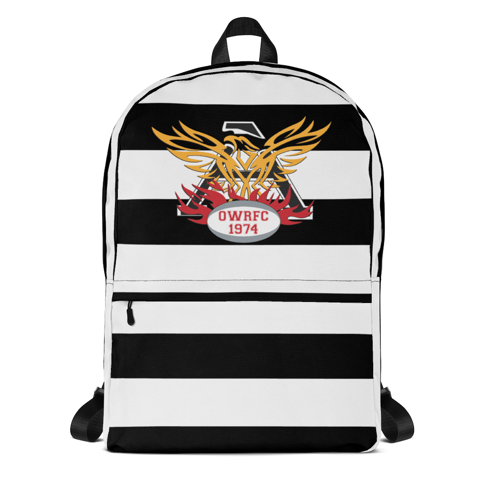 Atlanta Old White Rugby Club Travel Backpack