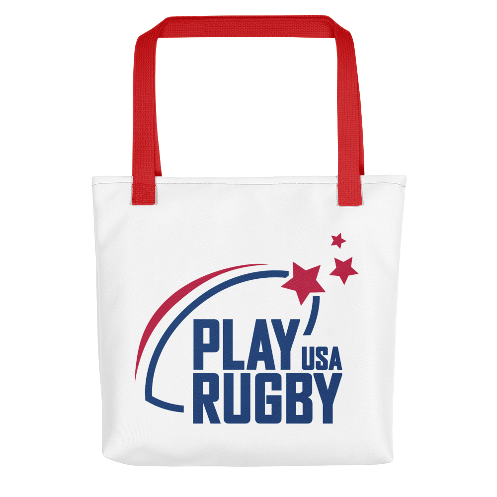 Play Rugby USA Tote Bag