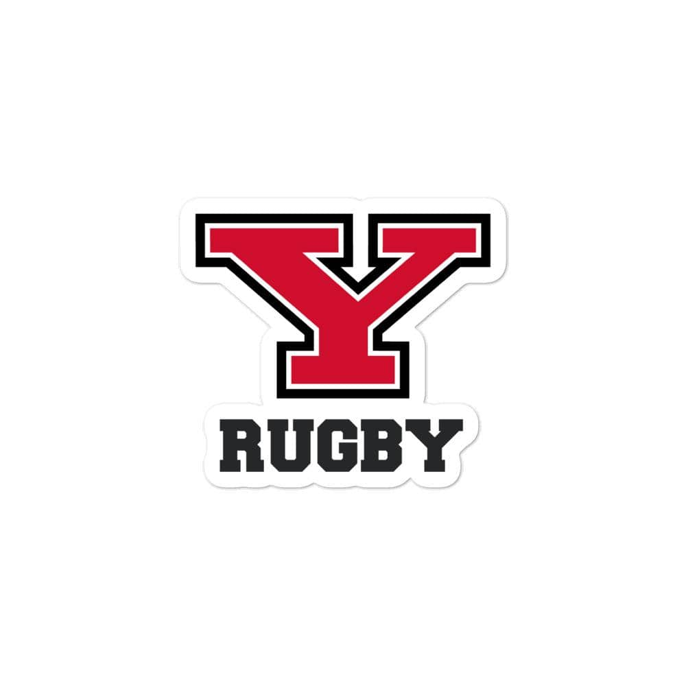 Youngstown Rugby Bubble-free Stickers