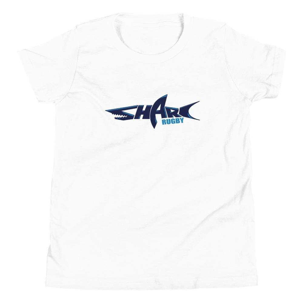 Sharks Rugby Youth Short Sleeve T-Shirt White
