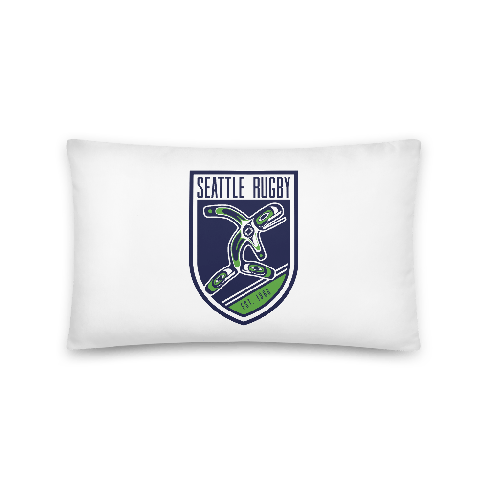 Seattle Rugby Club Basic Pillow