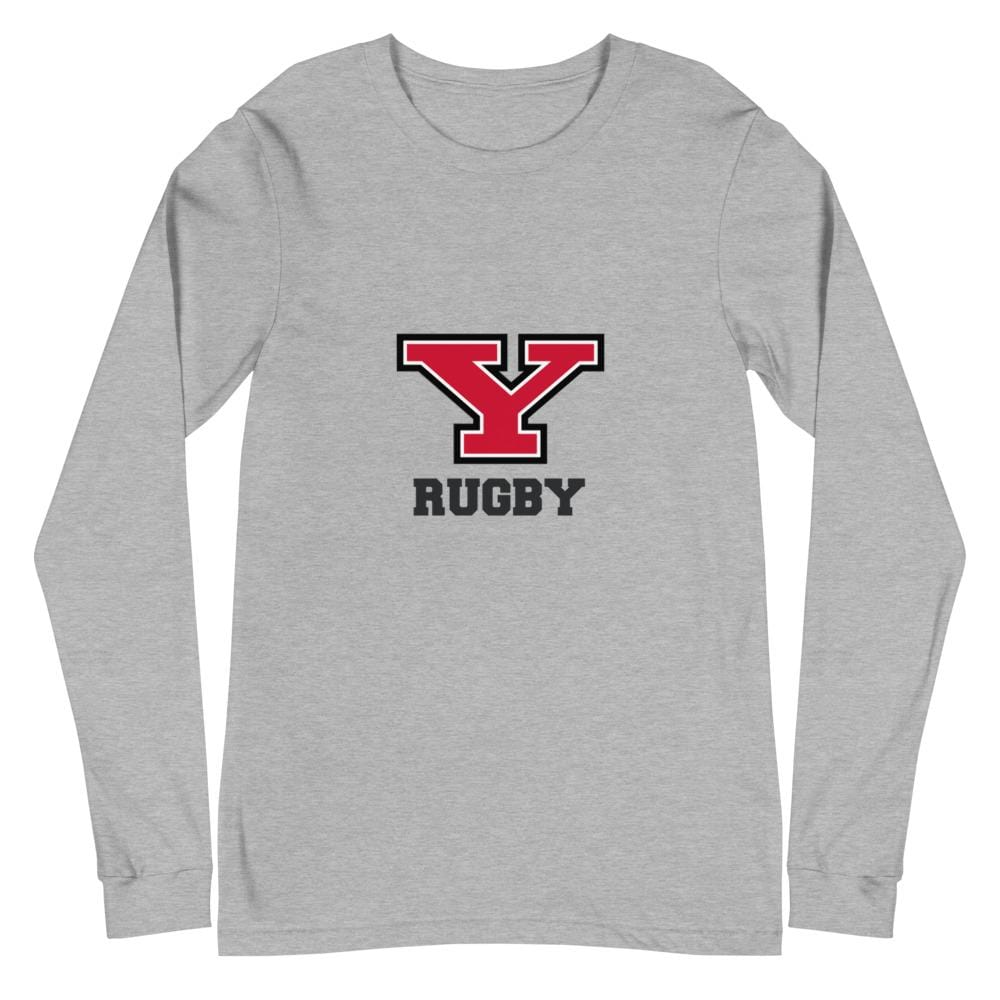 Youngstown Rugby Unisex Long Sleeve Tee Gray
