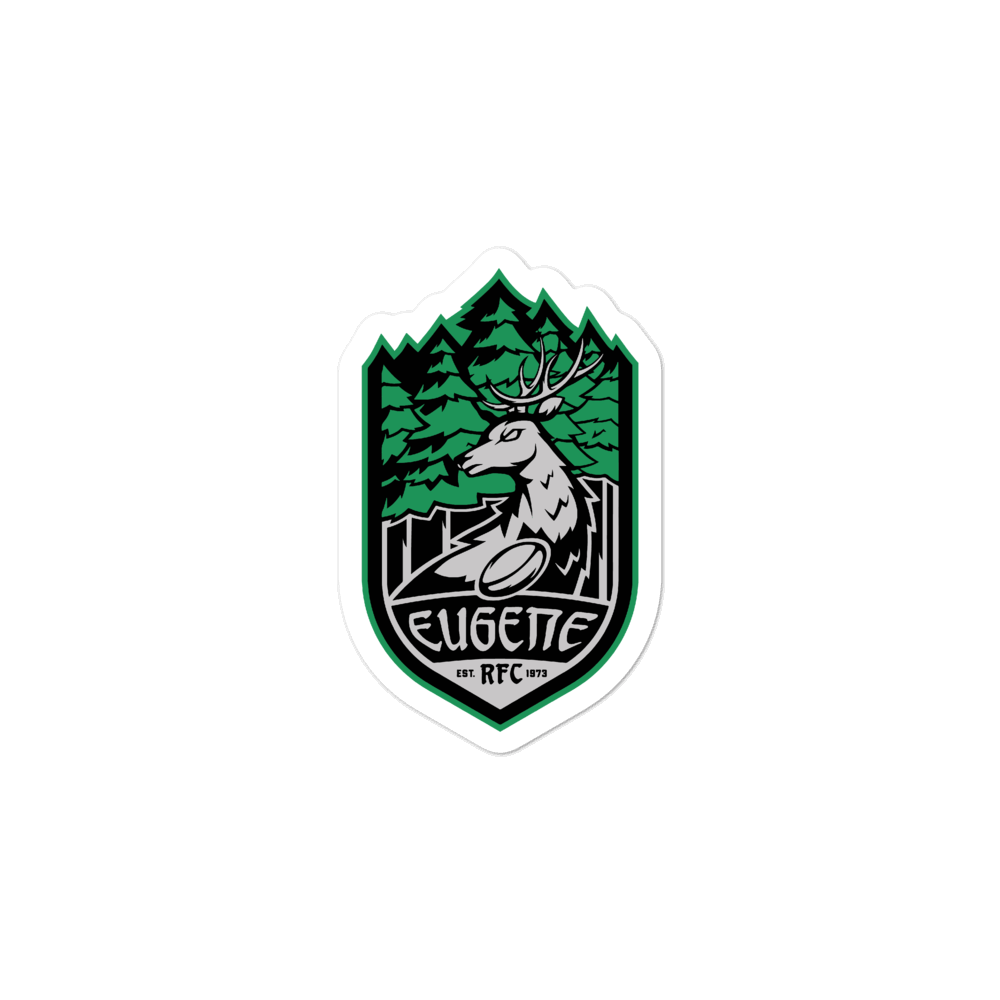 Eugene Stags Rugby Stickers
