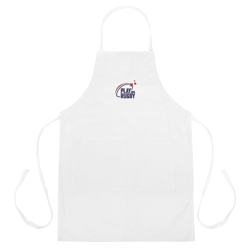 Play Rugby USA Embroidered Apron