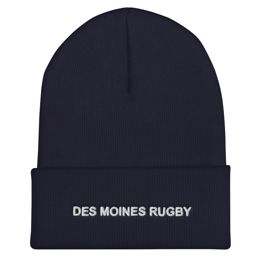 Des Moines Rugby On Field Training Beanie Navy