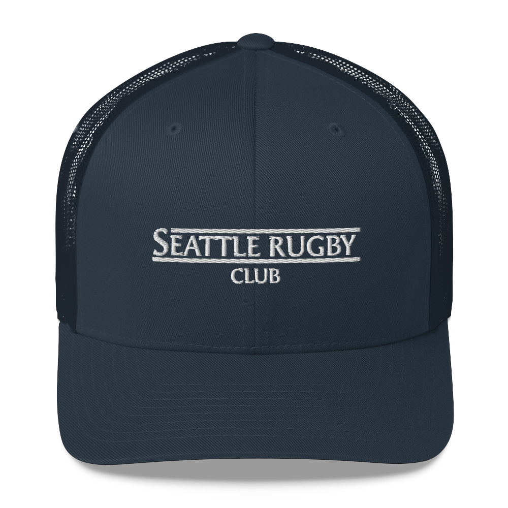 Seattle Rugby Club Classic Trucker Cap Navy