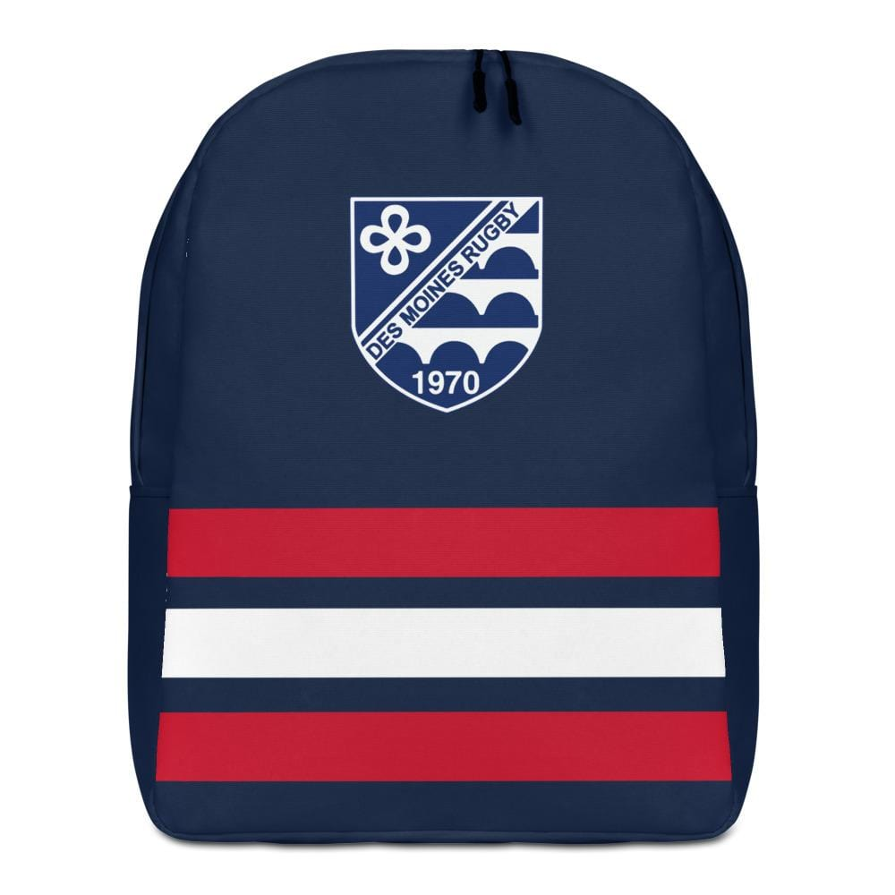 Des Moines Rugby Sport Backpack