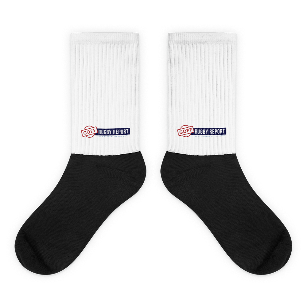 Goff Rugby Report TV Socks