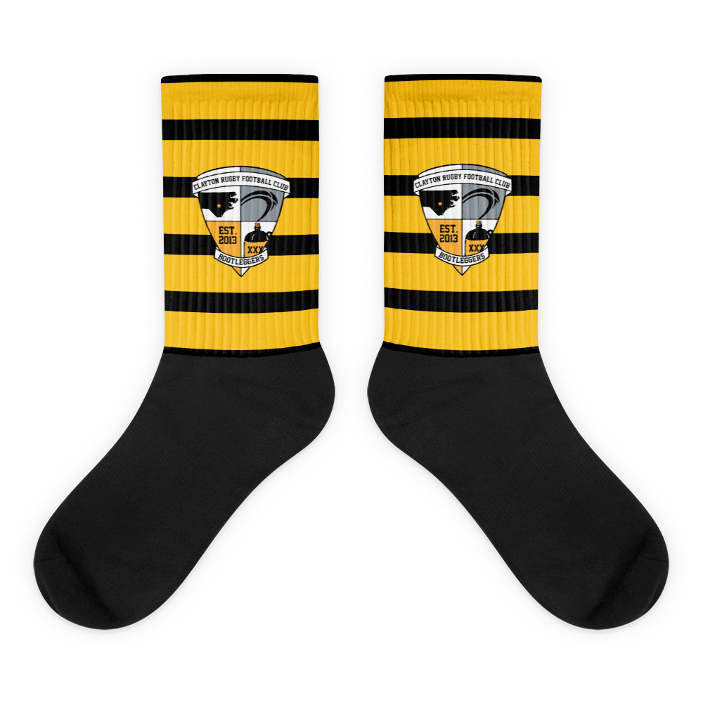 Clayton Bootlegger TV Socks