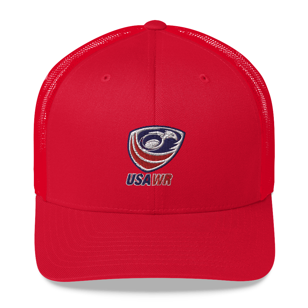 USA Wheelchair Rugby Trucker Cap Red