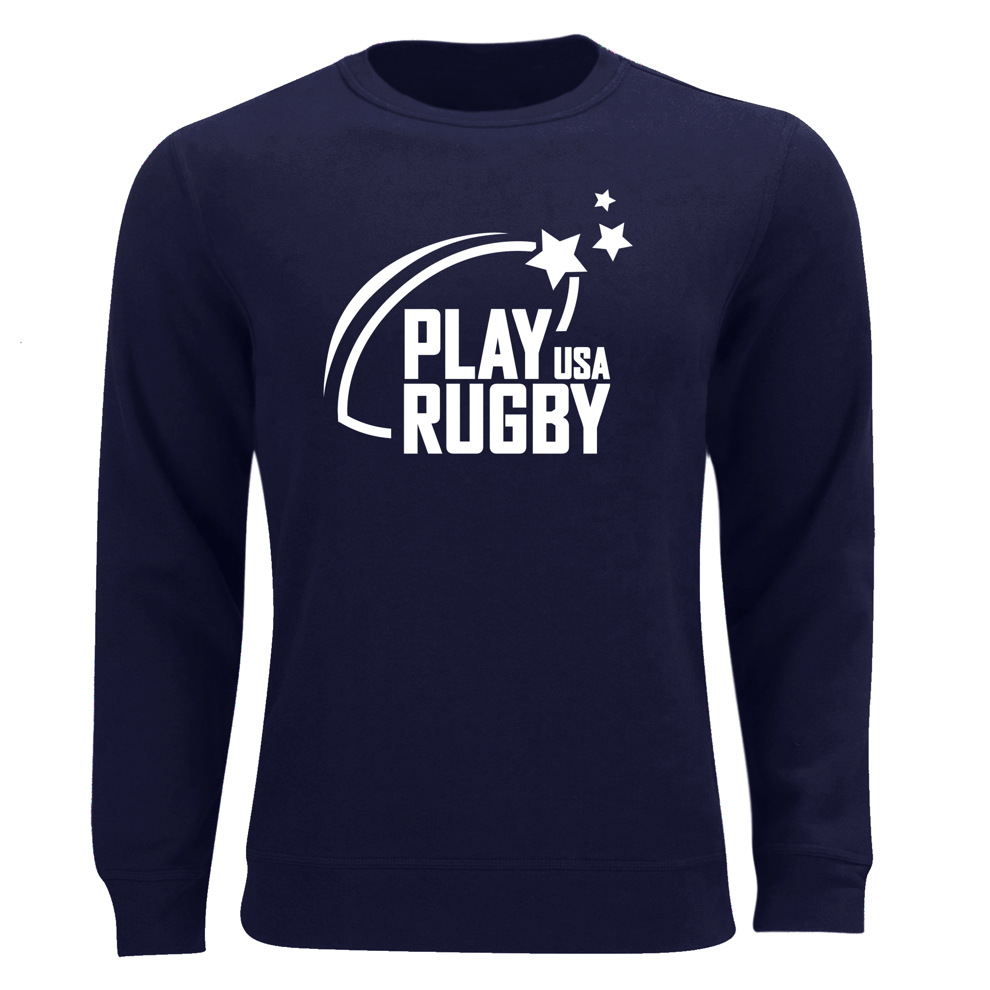 Play Rugby USA Unisex Sweatshirt Navy