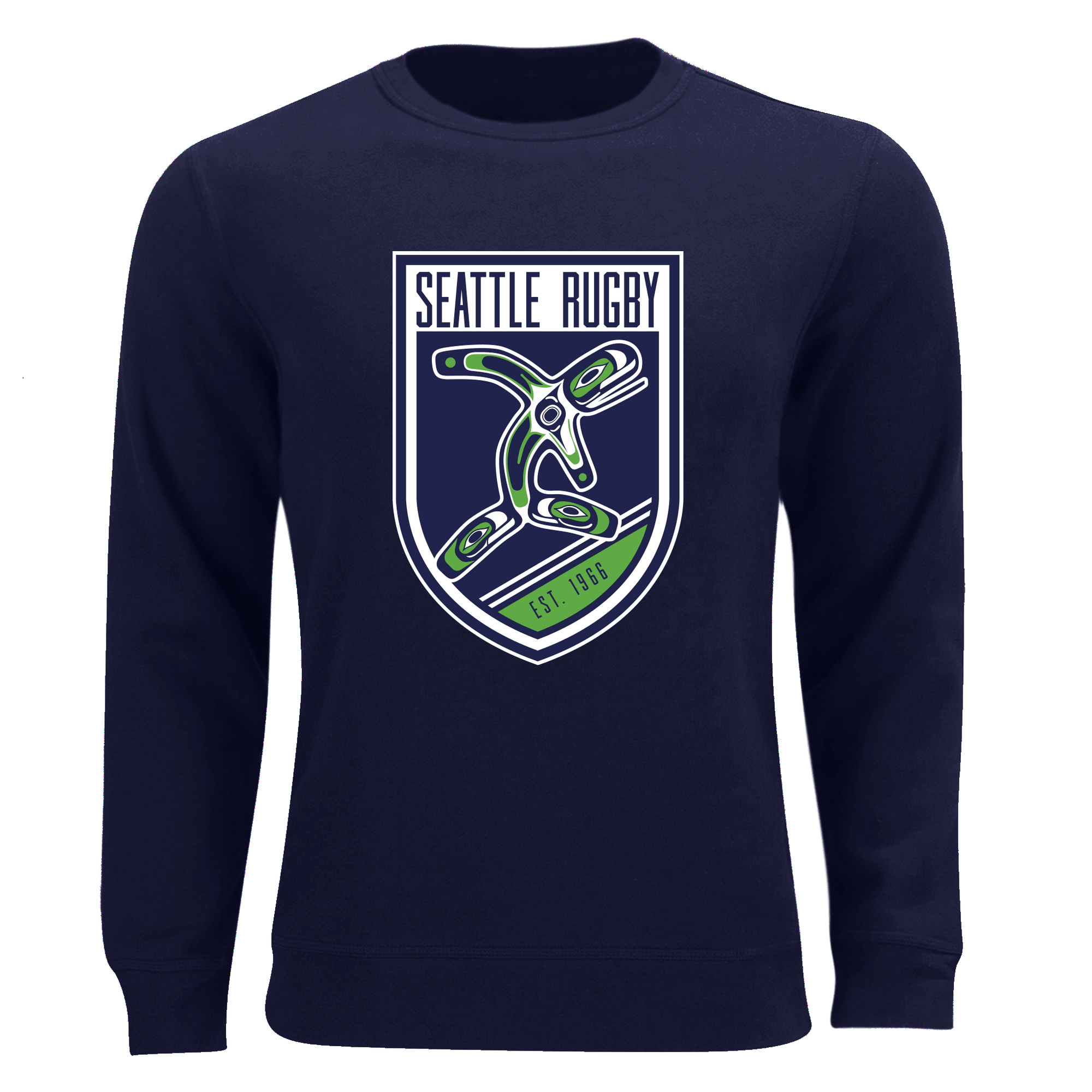 Seattle Rugby Club Unisex Sweatshirt Navy