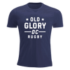 Old Glory DC Short Comfortable T-Shirt Navy