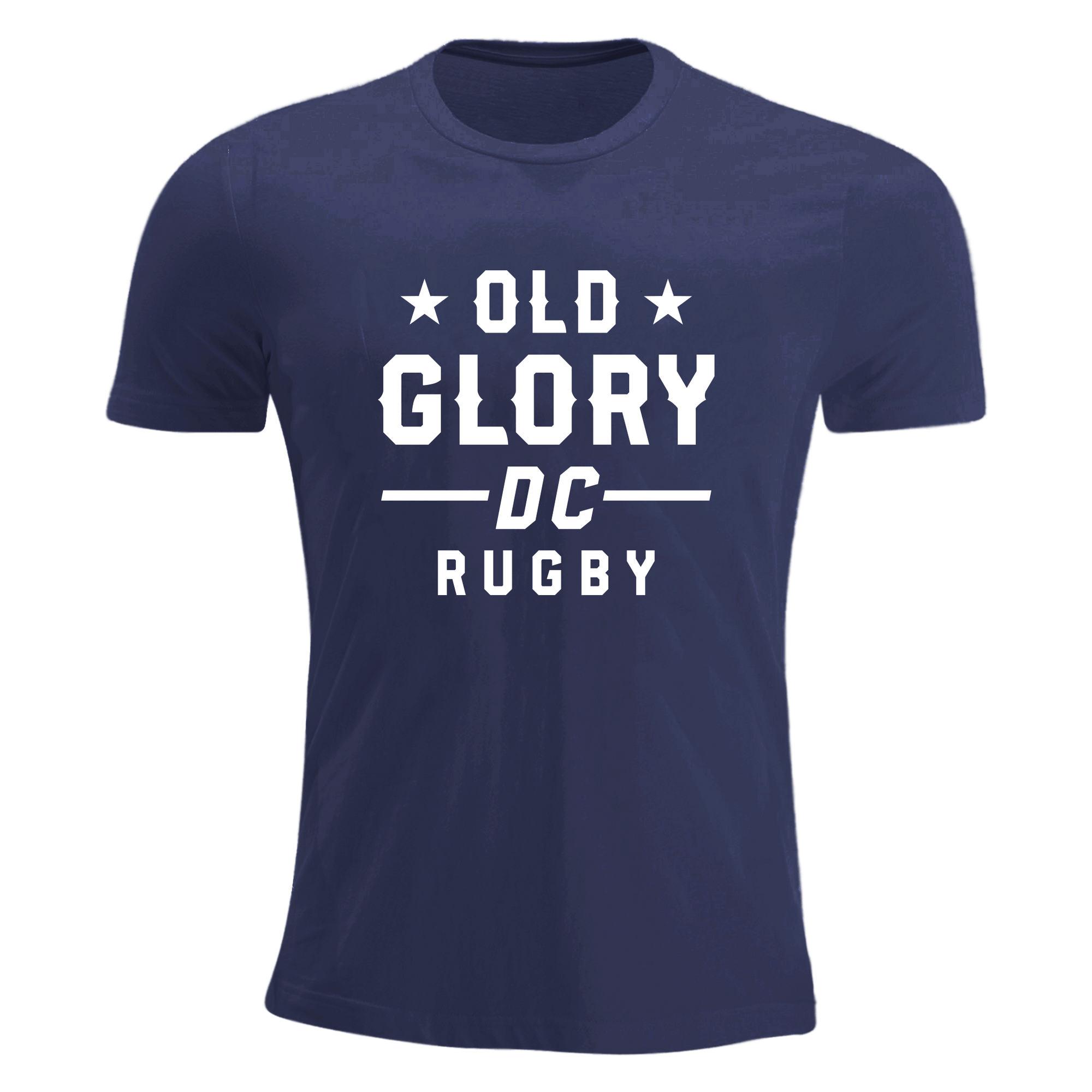 Old Glory DC Navy Tri-Blend T-Shirt