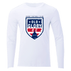 Old Glory DC Long Sleeve Tee White