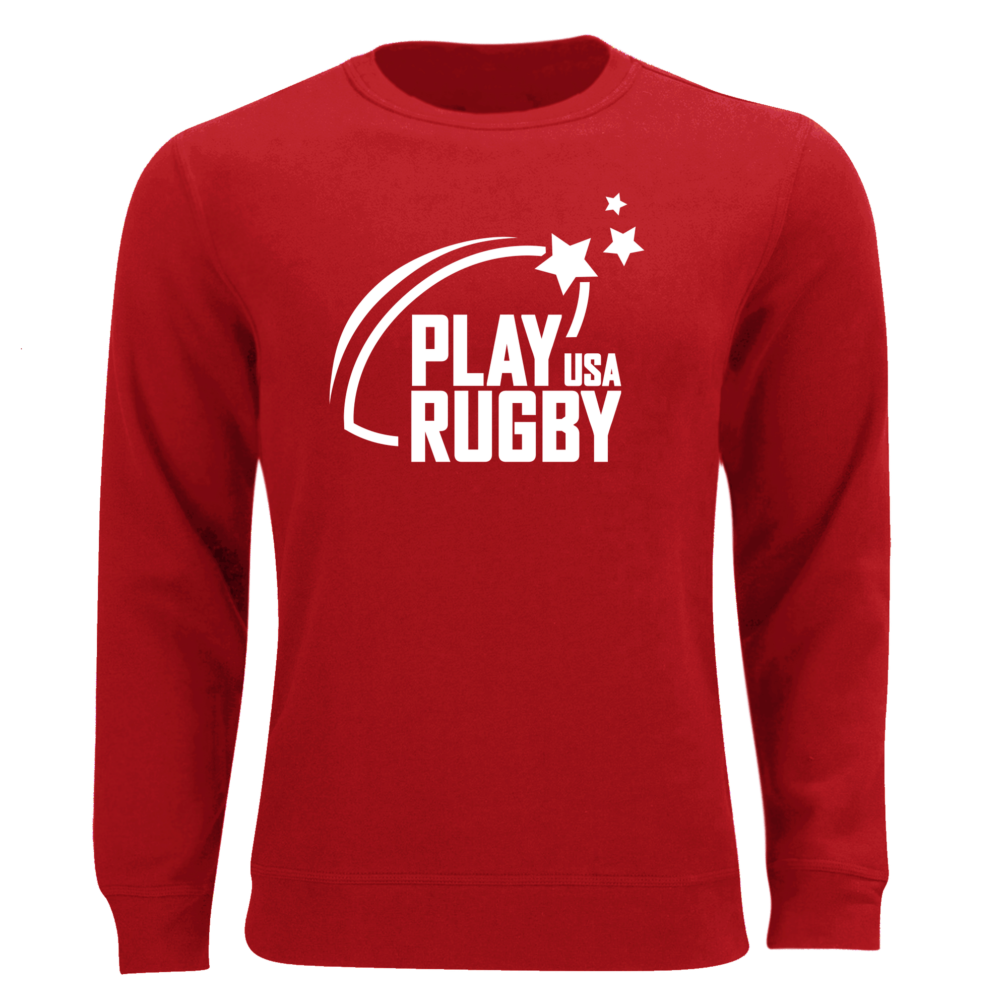 Play Rugby USA Sweatshirt Red