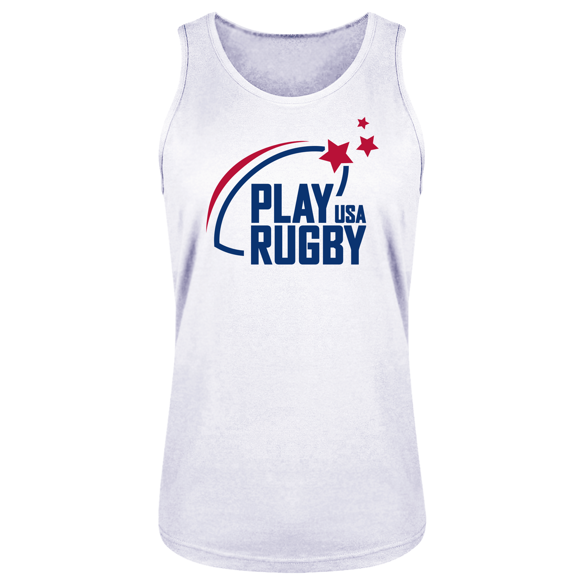 Play Rugby USA Bingtang Singlet White