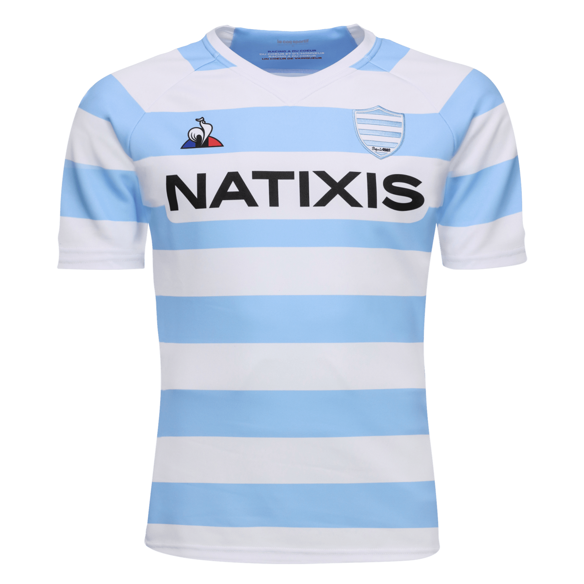 Le Coq Sportif Racing 92 Home Jersey